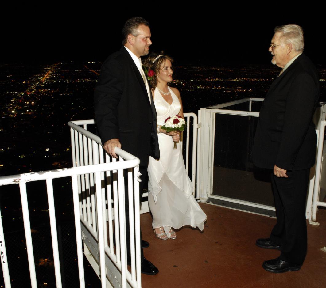 sky high wedding