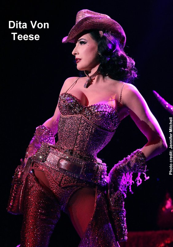 """f5832f382ce Burlesque headliner Dita Von Teese will make a stop at the House of Blues  at Mandalay Bay with her North American tour of """"The Art of the Teese""""  variety ..."""