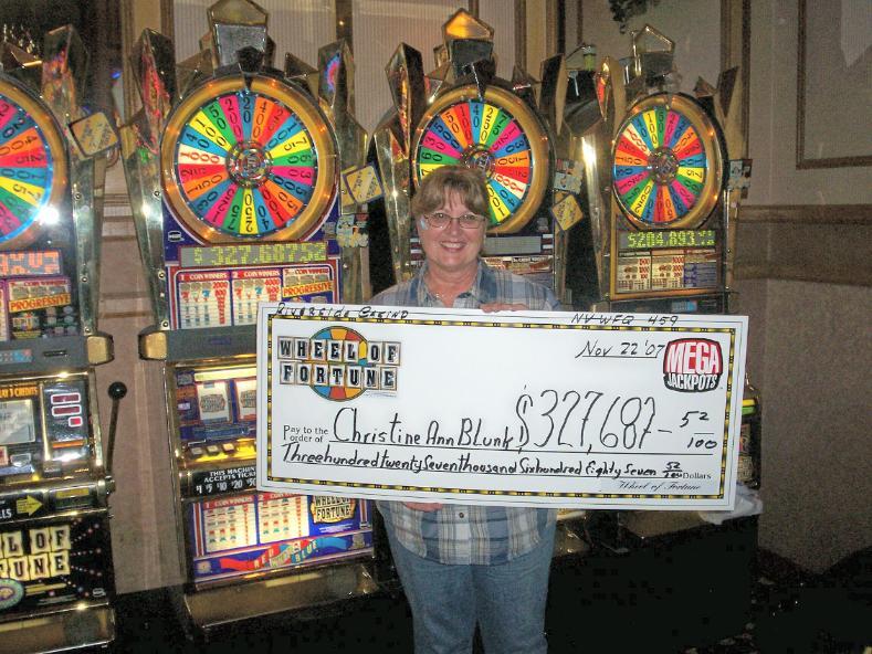 wheel of fortune slot winners las vegas