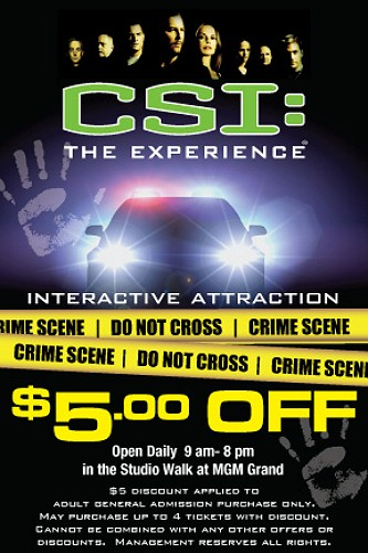 Discount coupons for las vegas attractions