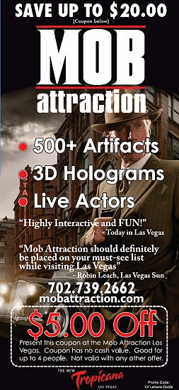 Las vegas attraction coupons