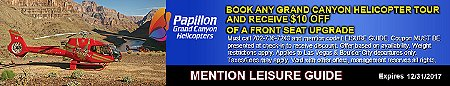 Papillon Grand Canyon Helicopter Upgrade Discount Coupon