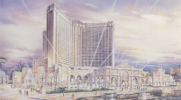 Artists conception of upcoming Monte Carlo Resort
