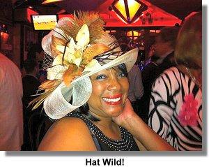 Mary Wilson Hat Wild!