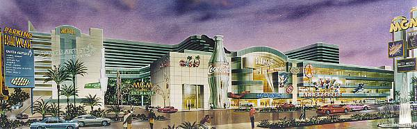 Artists conception of The Showcase