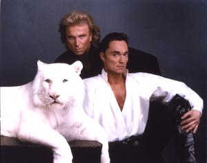 guests Siegfried and Roy